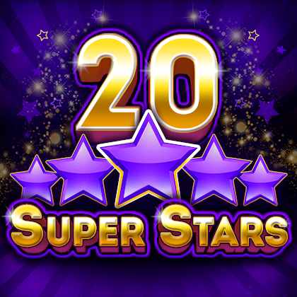 "20 Super Stars - online ""fruit"" slot from BELATRA in a new format"