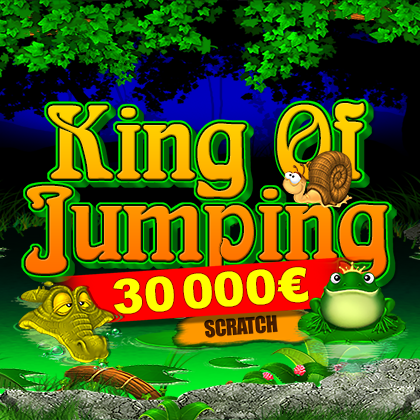 King Of Jumping Scratch - online slot game from BELATRA GAMES