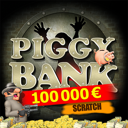 Piggy Bank Scratch - online slot game from BELATRA GAMES