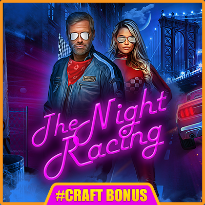 Night Racing - online slot game from BELATRA GAMES