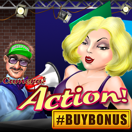 Action! – a spectacular slot machine from Belatra Games with #BUYBONUS